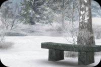 Winter Scenery Stationery, Backgrounds